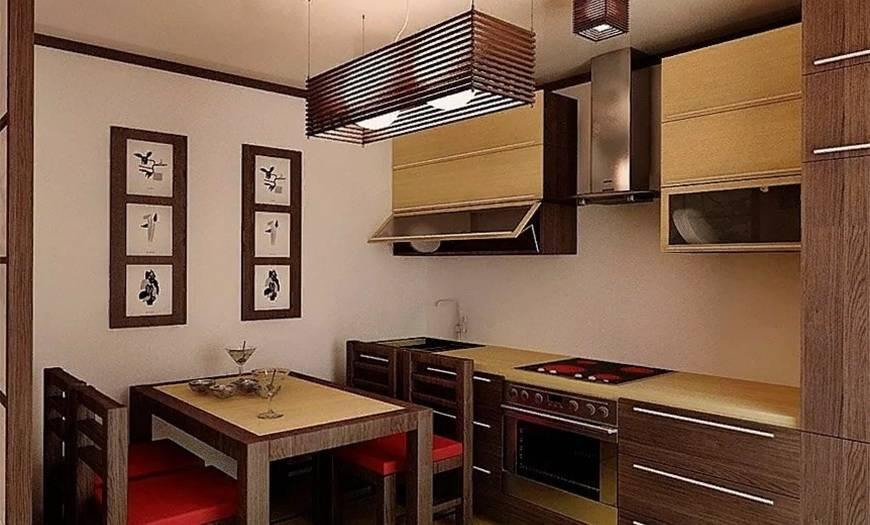 Как оформить интерьер кухни в японском стиле: подсказки, идеи и фото