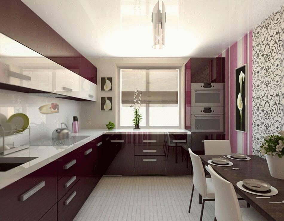Какой дизайн подойдет для кухни 12 кв. м.?