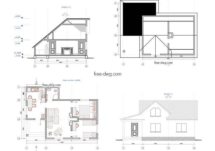 Проект дома по своему эскизу