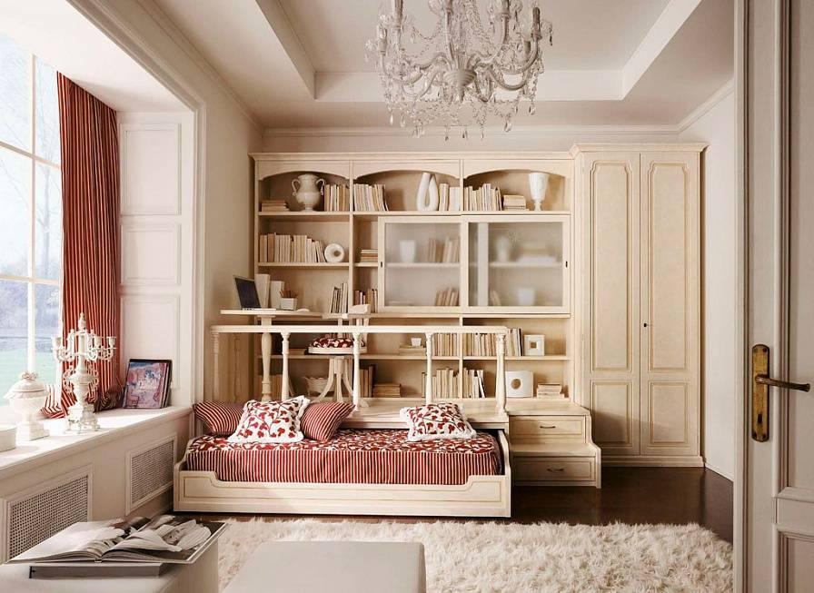 Классический стиль в дизайне детской комнаты — варианты оформления