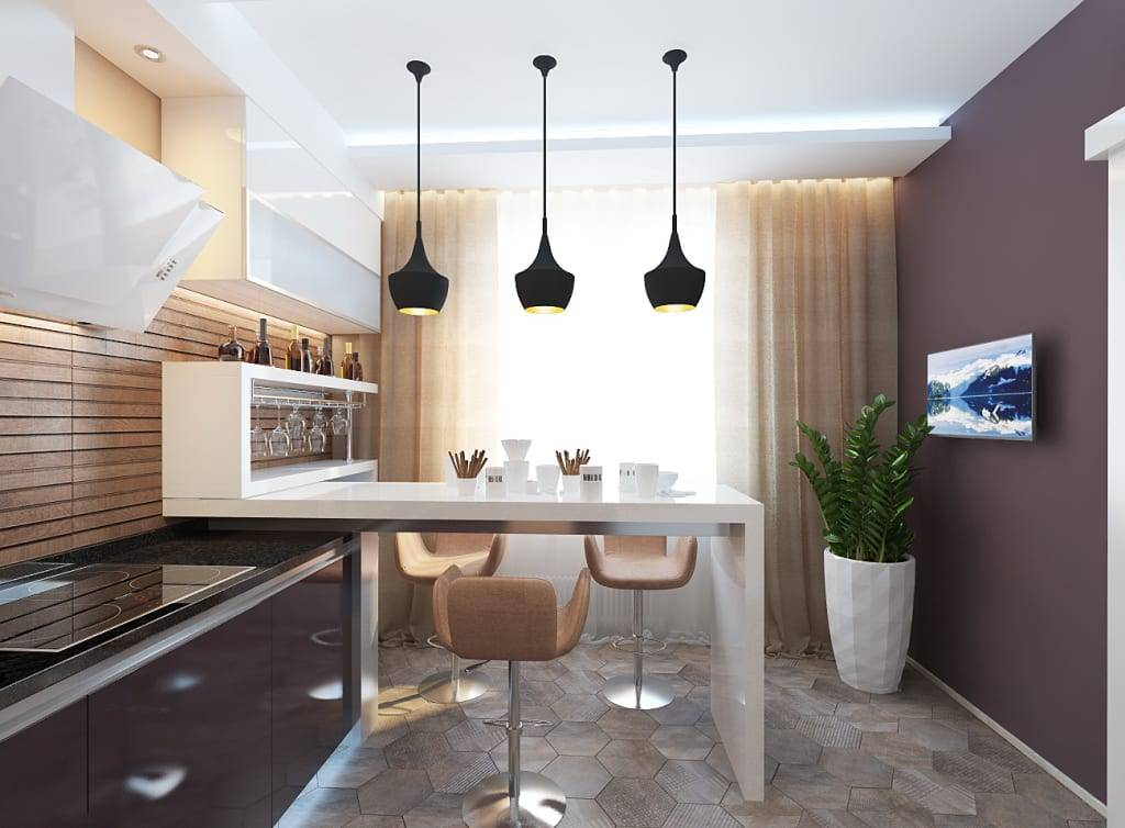 Кухня 13 кв метров: 40 фото реальных интерьеров, идеи дизайна в современном стиле