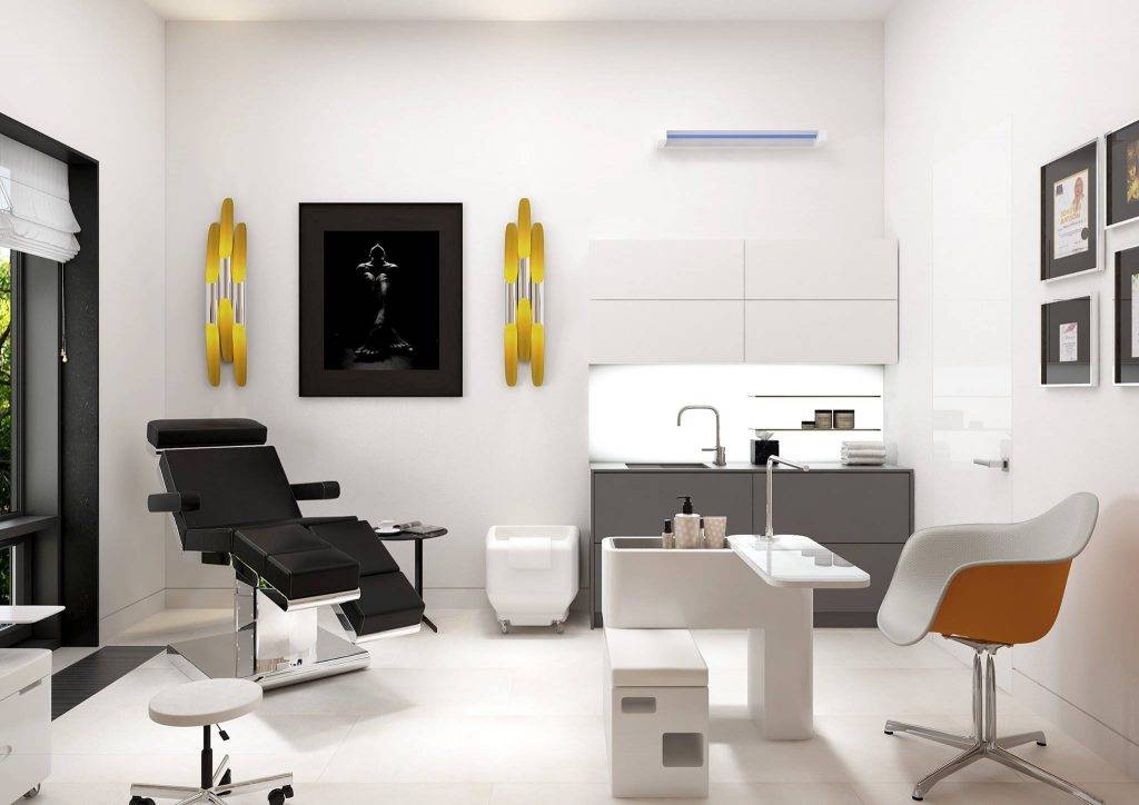 Дизайн парикмахерской и салона красоты: 75 вариантов оформления