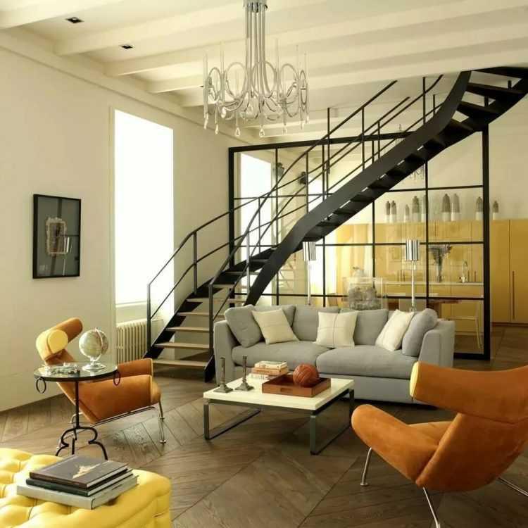 Дизайн гостиной в разных стилях - 10 примеров с фото