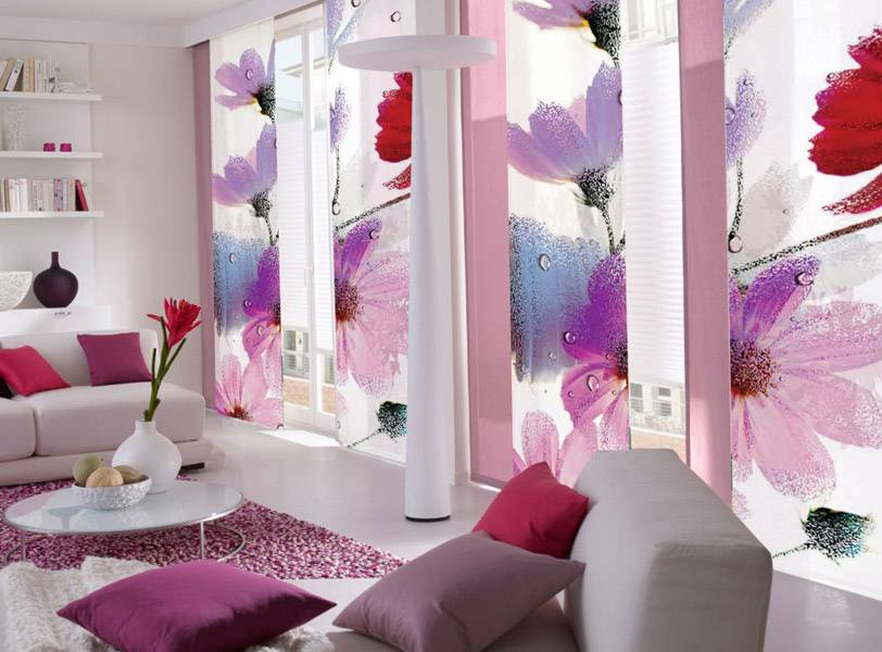 Двойные шторы (35 фото): комбинированные двусторонние и двухслойные варианты в гостиную, зал и на кухню, многослойные конструкции на люверсах