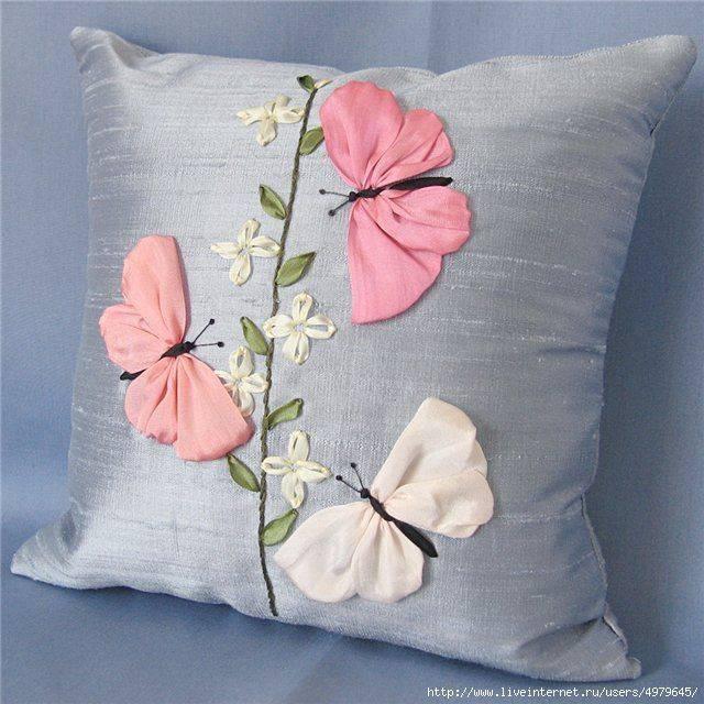 Декоративные подушки своими руками — способы создания и идеи