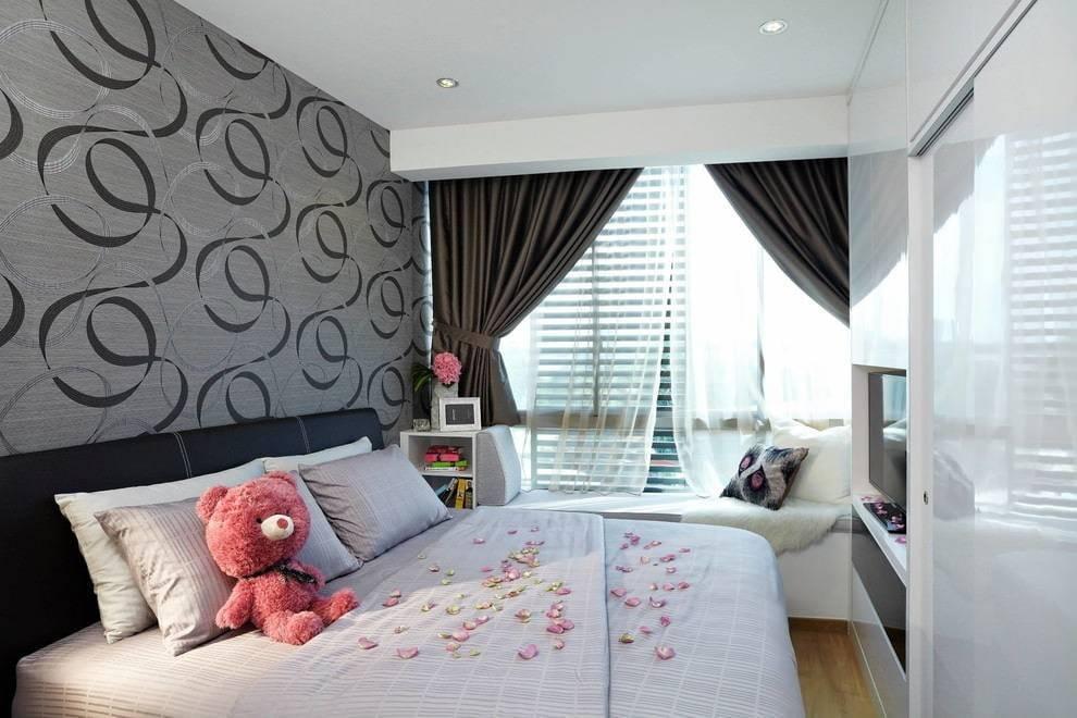 Как подобрать обои для маленькой комнаты зрительно увеличивающие пространство + фото » интер-ер.ру