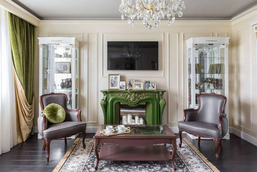 Квартира в классическом стиле - 100 фото лучших дизайнерских идей