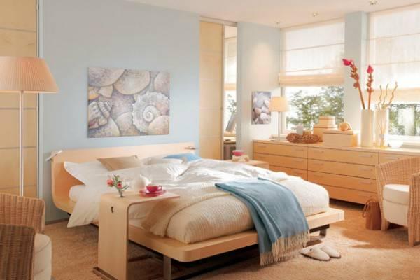 Как правильно подобрать цвет спальни по фен шуй?