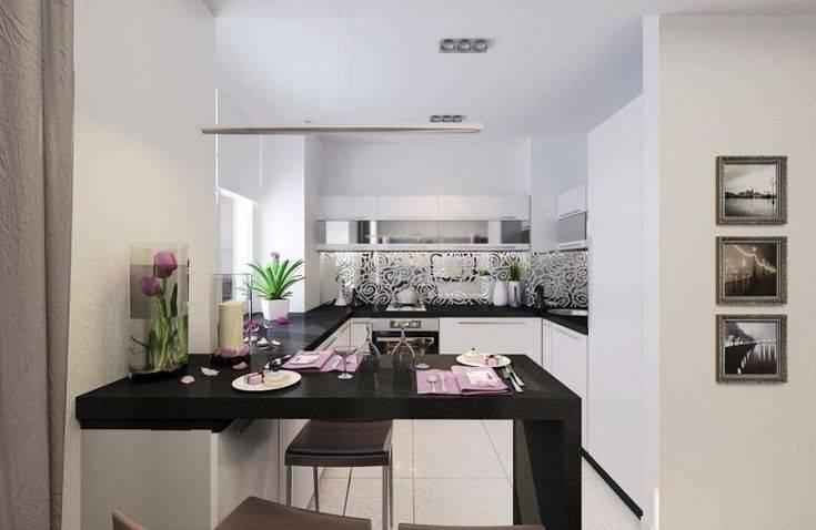 Дизайн кухни 10 кв м — 30 фото идей интерьера