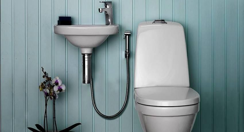 Гигиенический душ (103 фото): что такое встроенный душ для унитаза с термостатом? черные, белые настенные модели и с раковиной. как выбрать комплект? отзывы