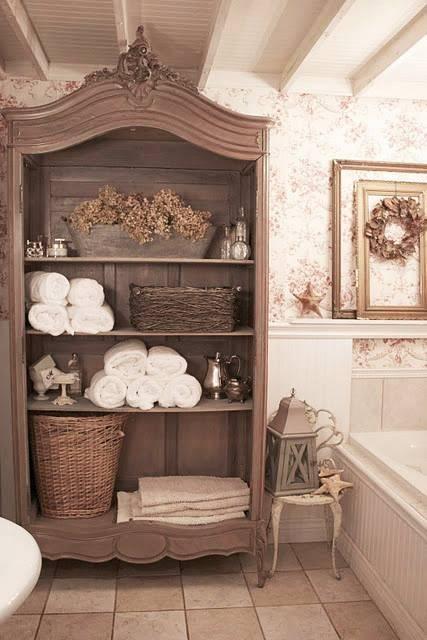 Стиль шебби шик в интерьере кухни, 35 фото дизайна