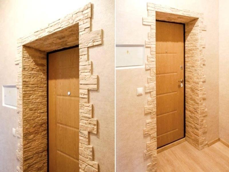 Оформление дверного проема без двери: самые удачные варианты