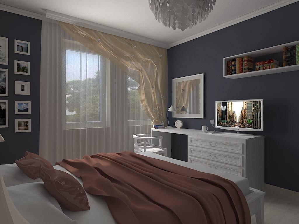 Дизайн спальни 12 кв м в классическом стиле