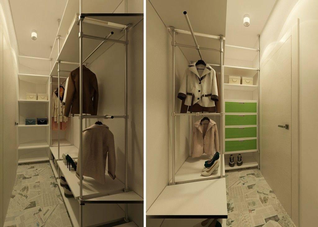 Как оформить встроенный шкаф в хрущевке