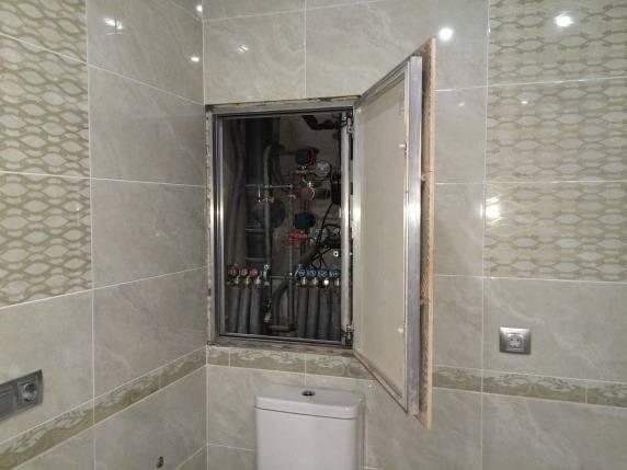 Сантехнический шкаф в туалет, назначение, а также плюсы и минусы