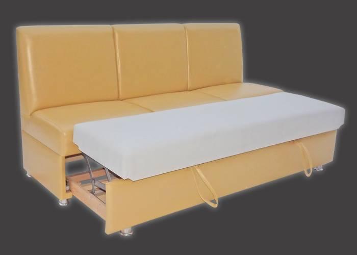 Кухонный диванчик со спальным местом: 25 практичных решений