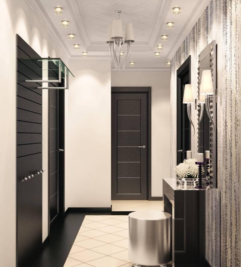 Белая прихожая (76 фото): выбор мебели в коридор в белом цвете. дизайн прихожей в черно-белых и других сочетаниях в квартире