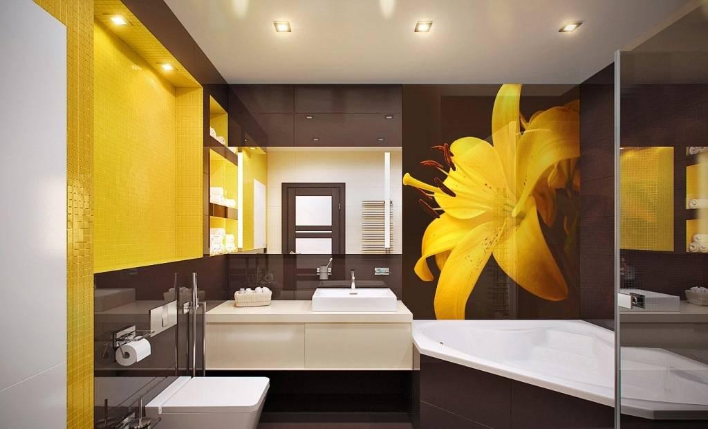 Цвет ванной комнаты: стильные идеи и фотографии интерьера