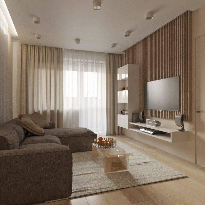 Дизайн интерьера зала в квартире и доме