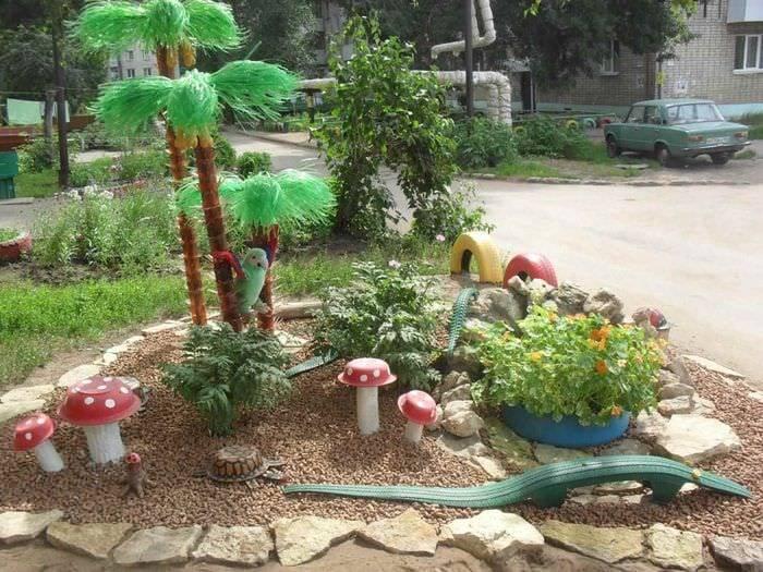 Дачные идеи для двора. как украсить двор?
