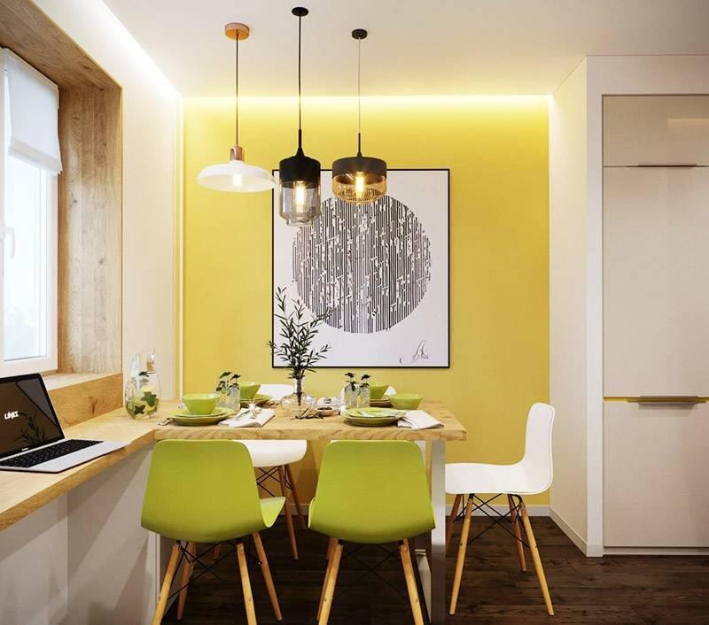 Дизайн узкой кухни: 50 фото красивых интерьеров + советы дизайнера