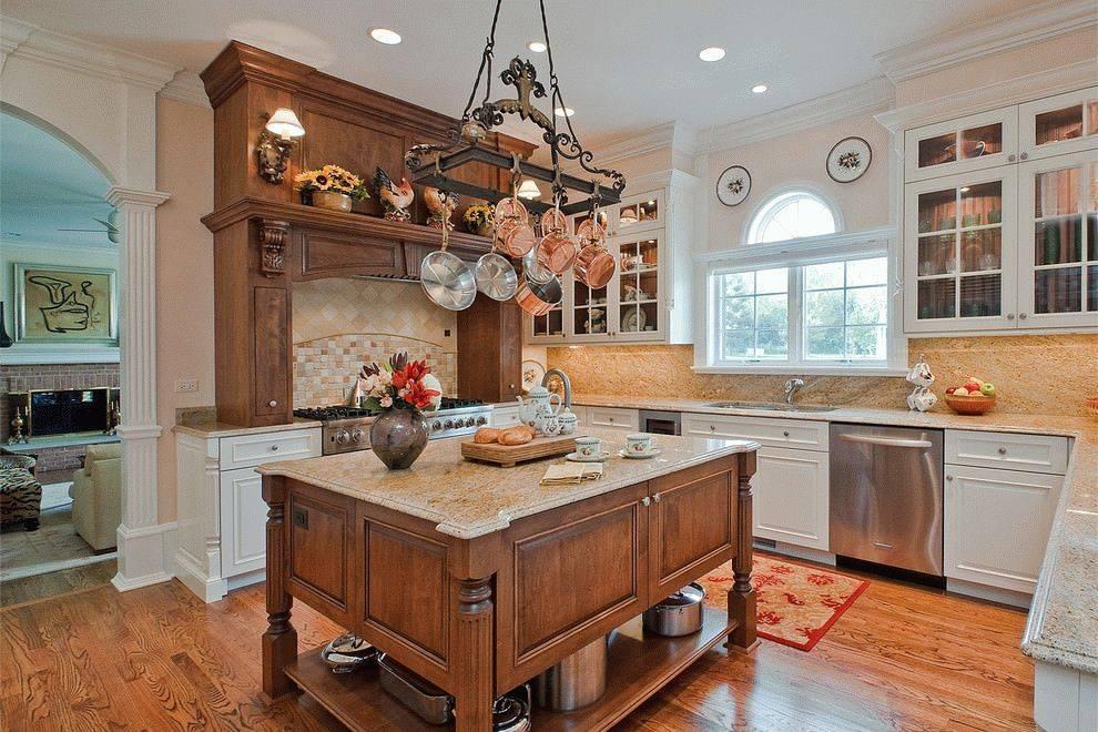 Кухня в деревенском стиле: модно, стильно, красиво