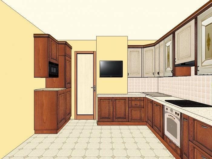 Дизайн кухни п44 с воздуховодом: как правильно обыграть неправильную геометрию кухни