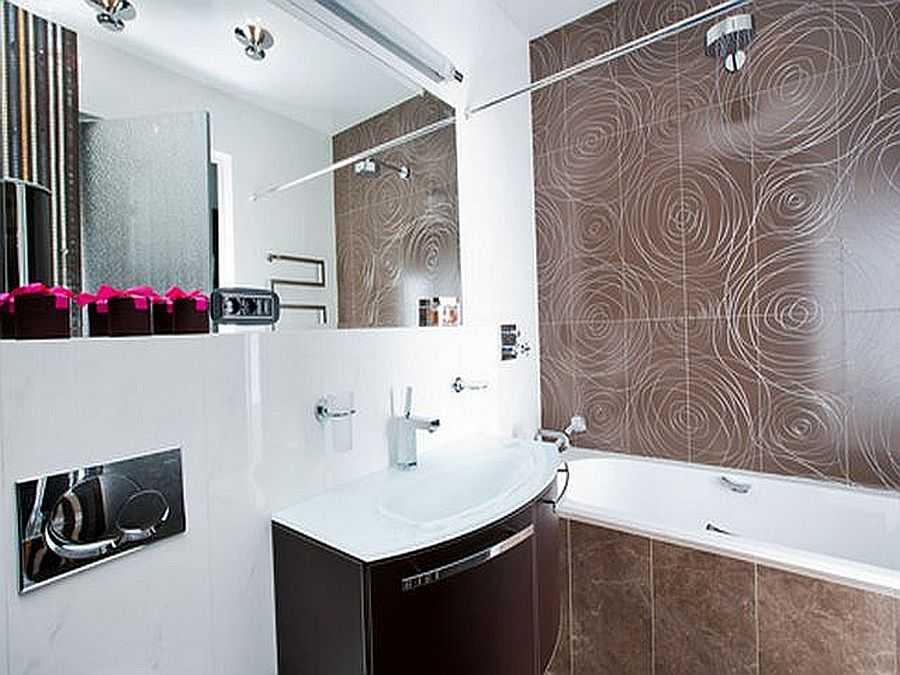 Правила эргономики: дизайн ванной комнаты 5 кв м