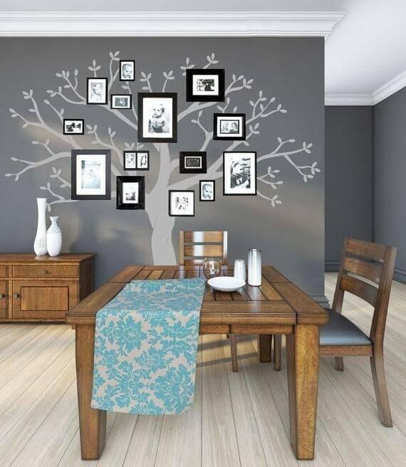 Декоративное дерево в интерьере - 75 фото вариантов дизайна - swoofe.ru