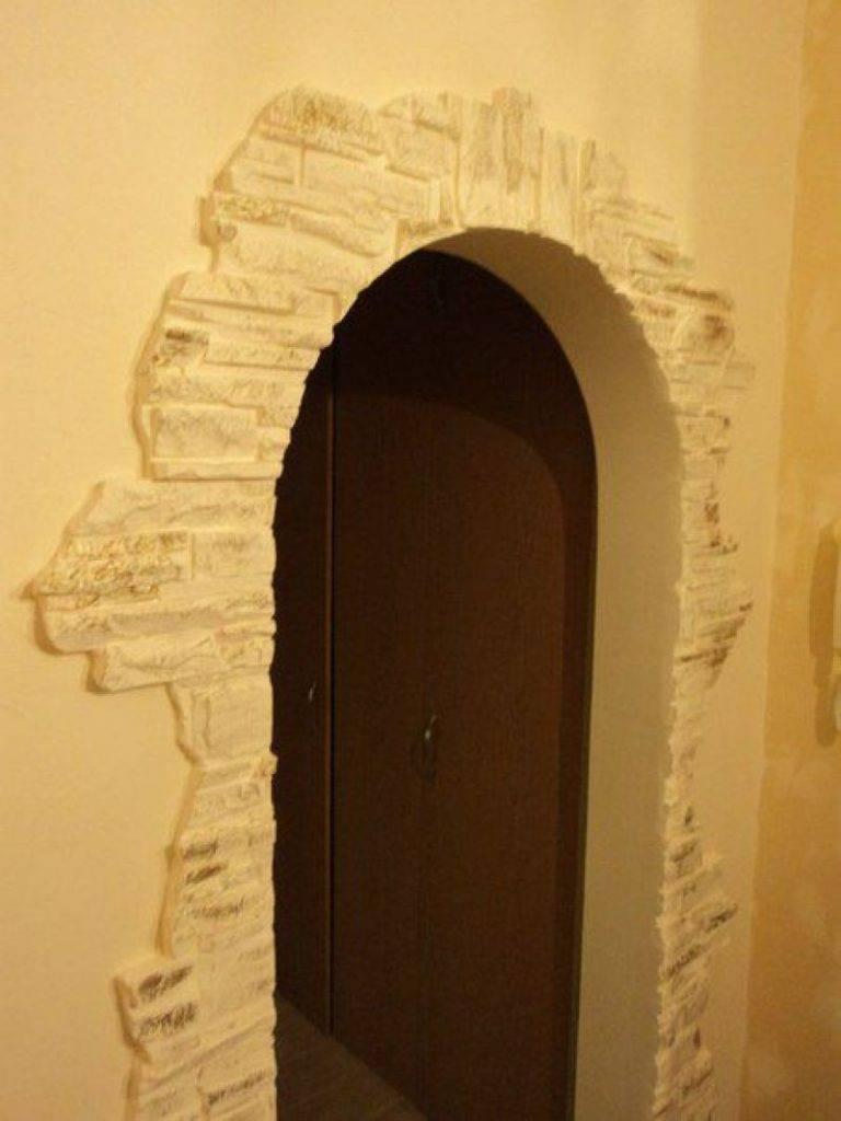 Виды межкомнатных арок: формы, типы и размеры, красивое оформление из гипсокартона, с колоннами - 41 фото