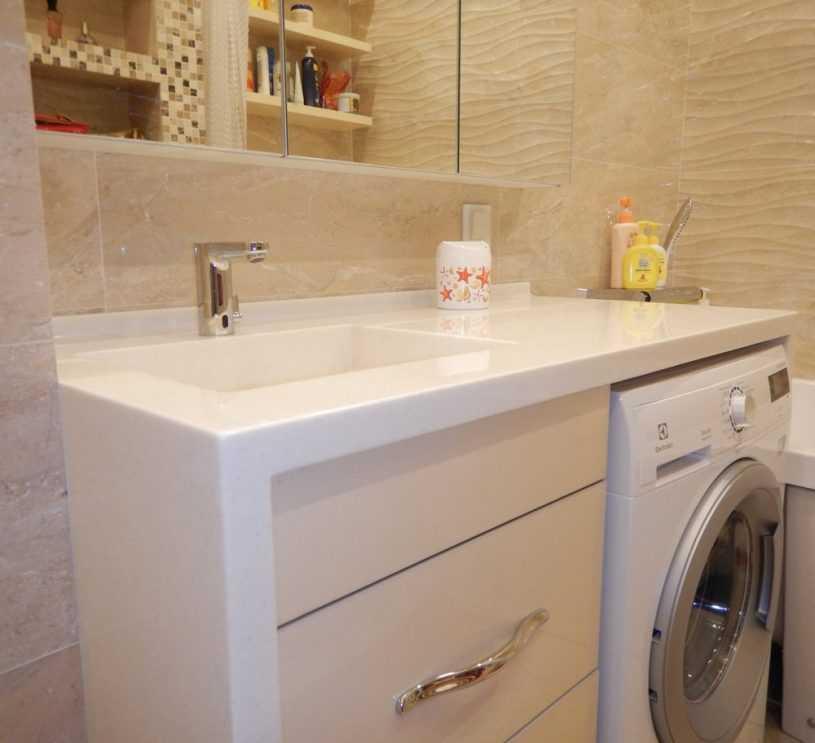 Накладная раковина на столешницу для ванны: 35 фото раковин в интерьере