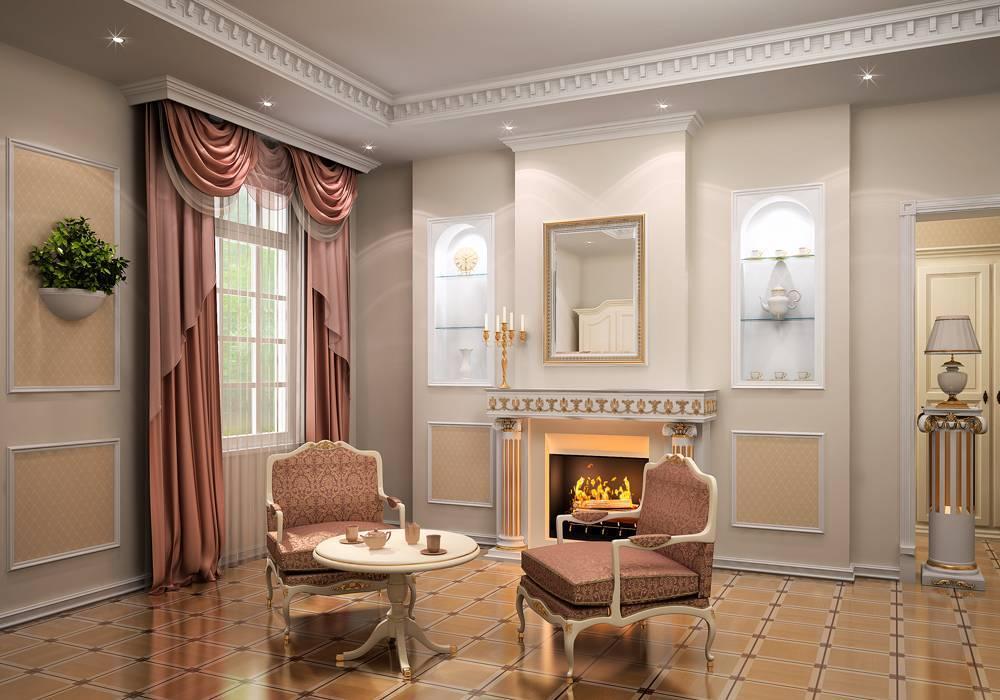 Лепнина в интерьере (56 фото): красивый лепной декор ремонтов в современном стиле и в стиле в лофт, примеры дизайна лепниной спальни и других комнат