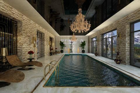 Зона отдыха на дачном участке: фото бассейнов в частном доме и идеи их оформления