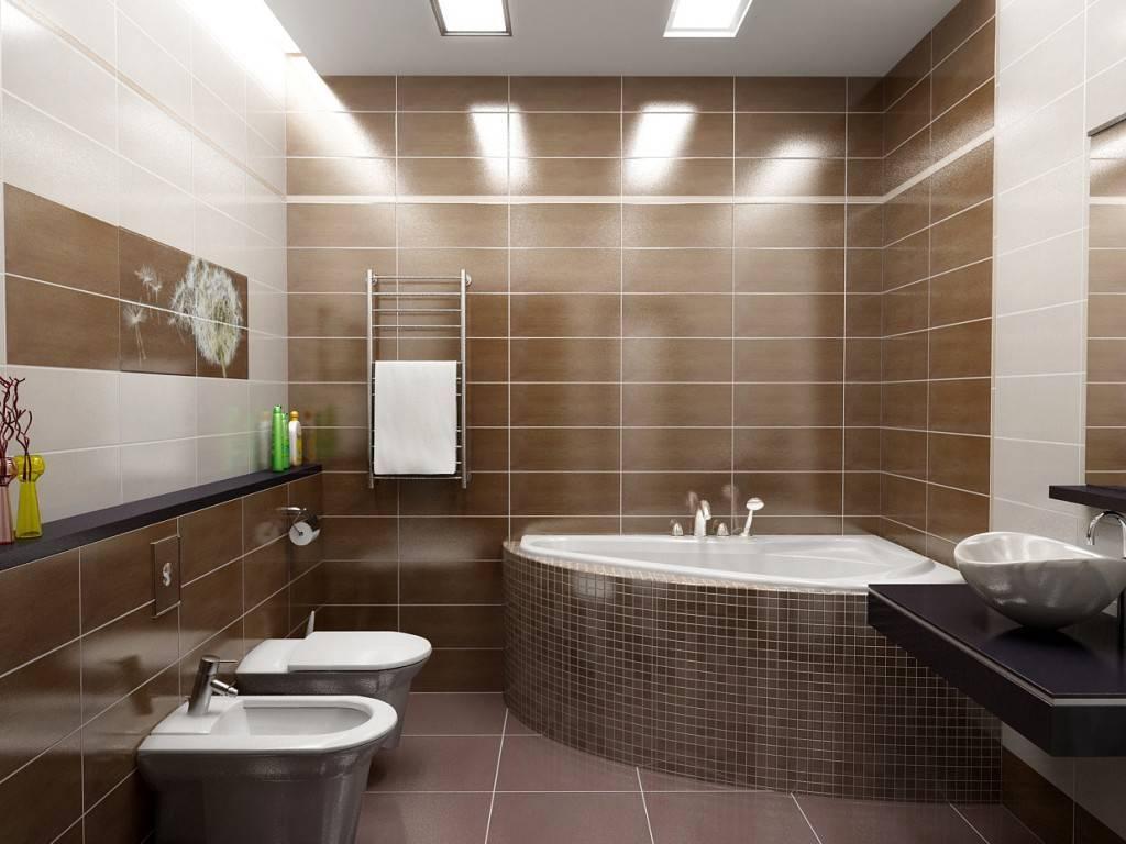 Как выбрать плитку в ванную комнату и туалет: дизайн санузла с кафельным покрытием