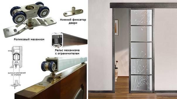 Раздвижные двери своими руками: пошаговая установка, изготовление