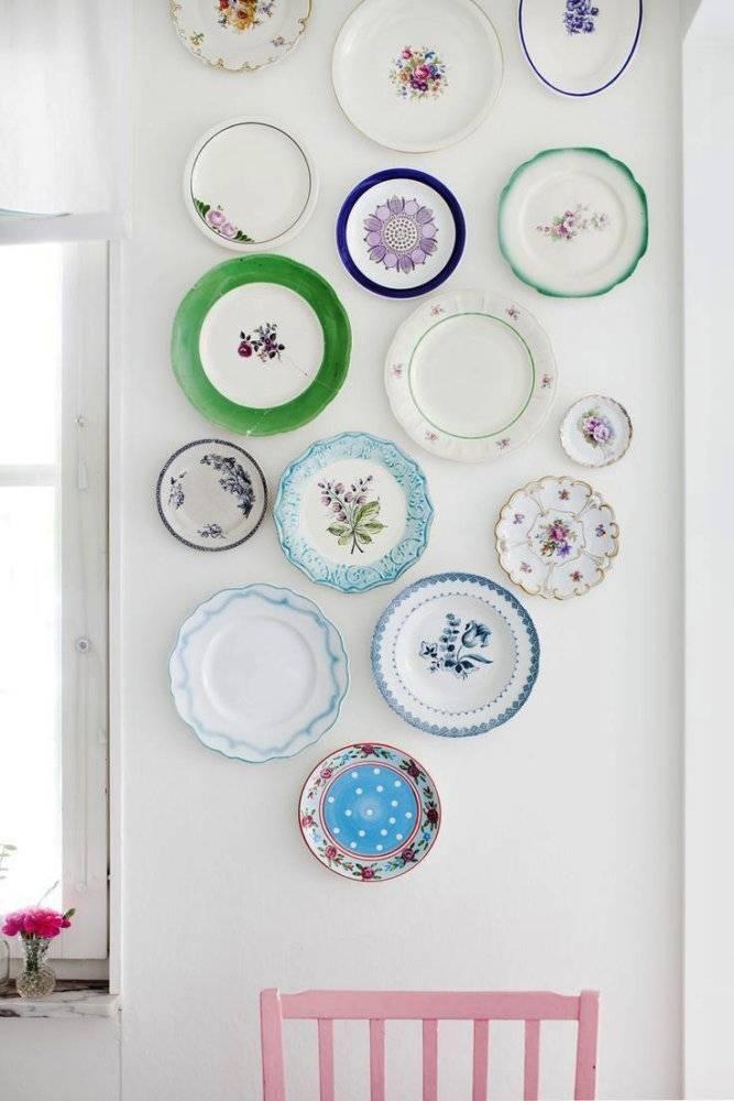 Декупаж тарелок - пошаговая инструкция для начинающих (50 фото)