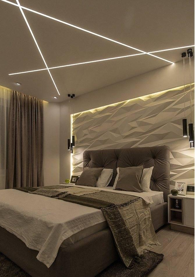 Какое освещение подобрать в спальню — особенности и критерии