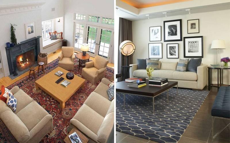 Ковер в гостиную: 28 фото самых красивых ковриков   дом мечты
