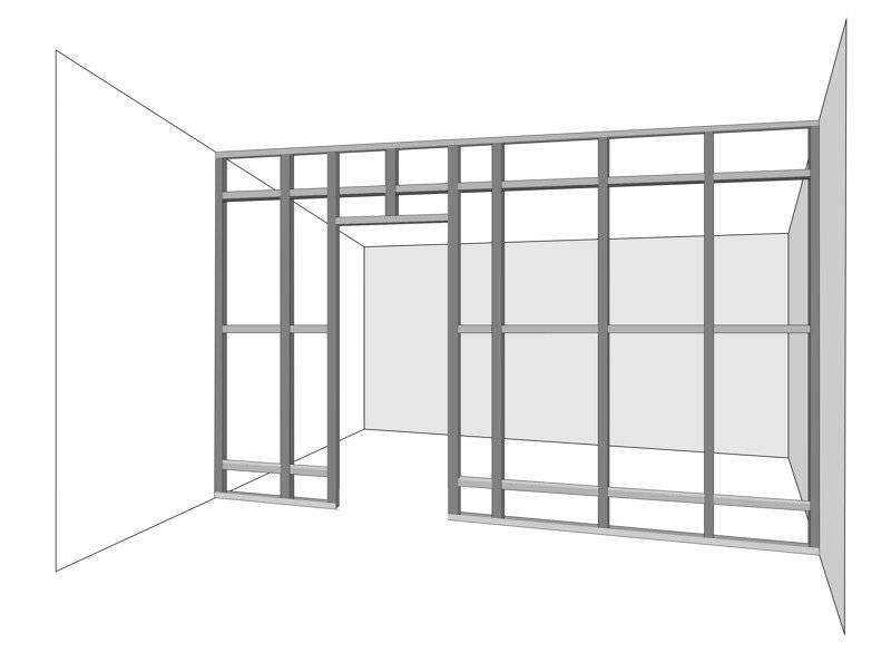 Стены из гипсокартона – обшивка стен своими руками. 110 фото монтажа современных конструкций – строительный портал – strojka-gid.ru