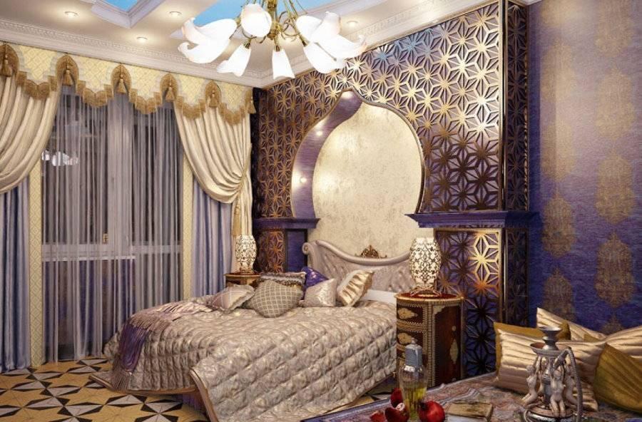 Восточный стиль в интерьере комнаты своими руками с фото,видео и фотогалереей