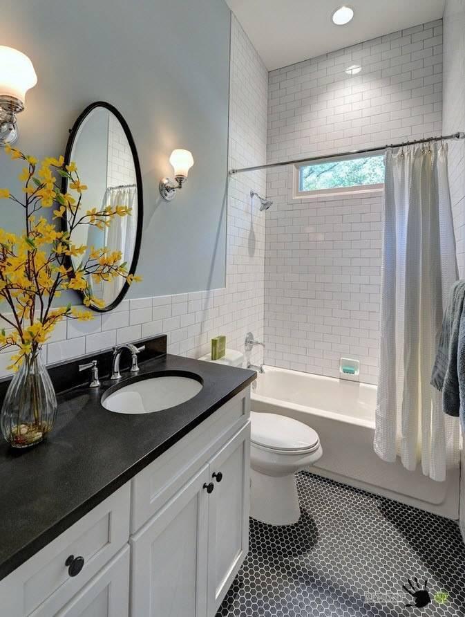 Дизайн ванной 3 кв. м. фото новинок интерьера с туалетом и без