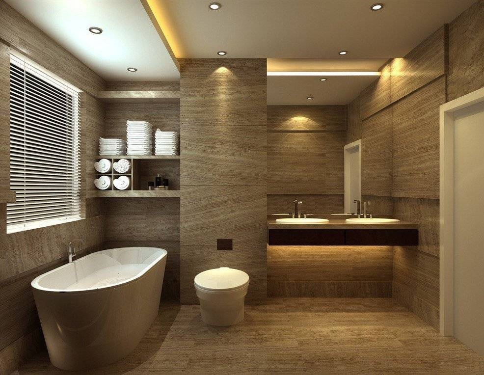 Модная ванная: идеи для интерьера маленькой комнаты и советы по выбору цветовой схемы (145 фото + видео)