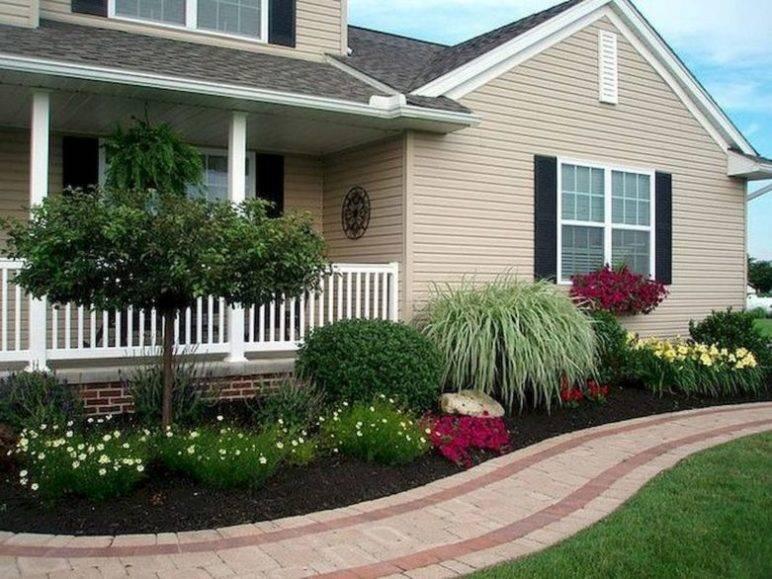 Палисадник возле дома: планировка, дизайн, выбор растений и интересные идеи, фото