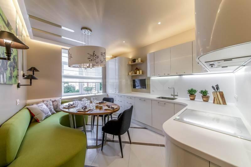 Дизайн кухни 13 кв. м. – великое в малом
