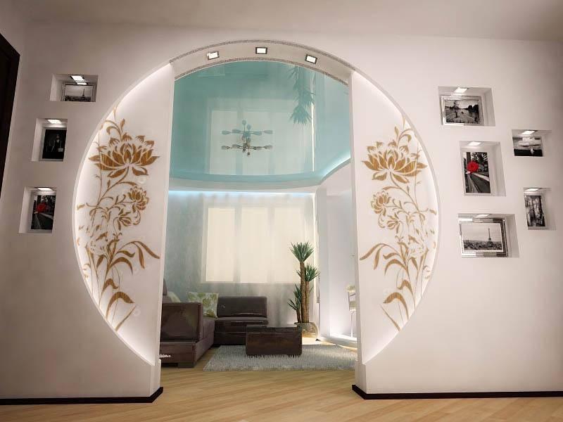 Арка в интерьере квартиры: современные идеи, 80+ фото