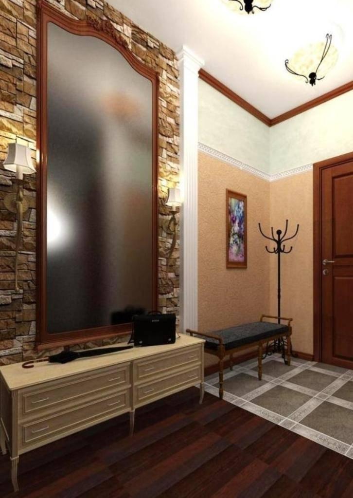 Интересные варианты отделки прихожей комнаты