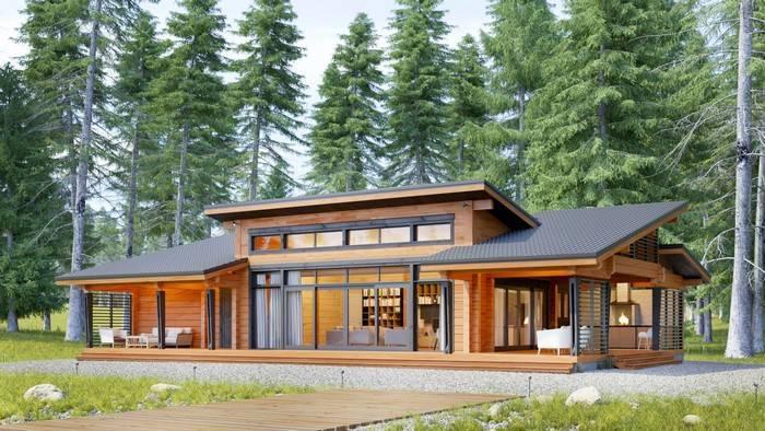 Проекты домов с панорамными окнами цены под ключ, проекты в москве