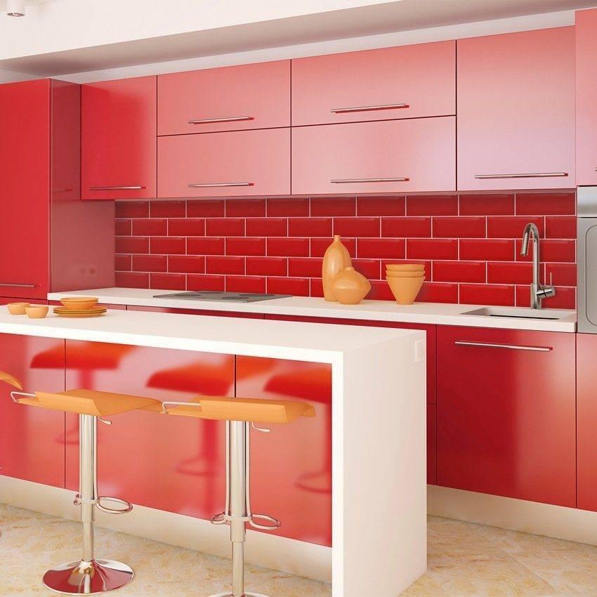 Яркая кухня - 100 фото и видео стильных, ярких и безупречных сочетаний
