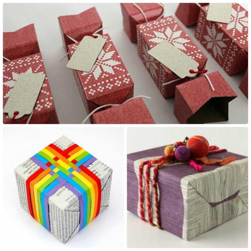 12 вариантов, как сделать красивую упаковку для подарков своими руками