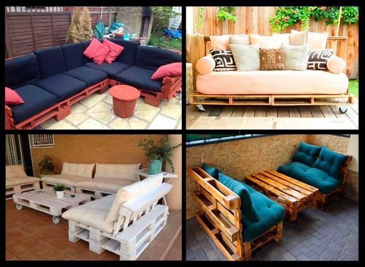 Мебель из поддонов (паллет) своими руками - 110 фото вариантов для изготовления!